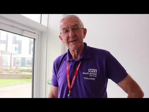 Meet Discharge Lounge Volunteer Peter