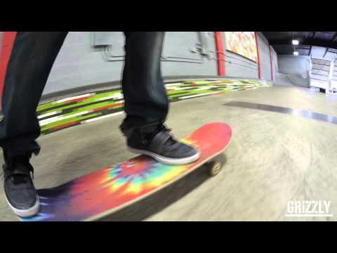 Grizzly grip tape tie dye Commercial with Torey Pudwill
