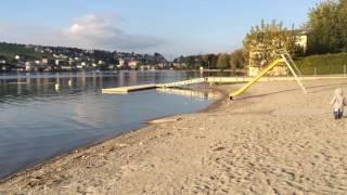スイス発 もうすぐ日没!ルツェルン湖【スイス情報.com】