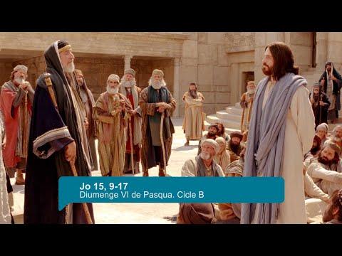 Comentari de l'Evangeli (Jo 15, 9-17) - 09 de Maig de 2021