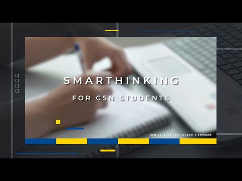 Smarthinking for CSN Students