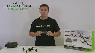 How to Fly in Manual Mode with your Sky Viper V2450FPV Drone