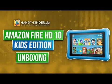 Amazon Fire HD 10 Kids Edition (2018) - Kindertablet von Amazon im Testvideo [unboxing]