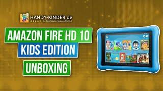 Amazon Fire HD 10 Kids Edition - Kindertablet von Amazon im Testvideo [unboxing]
