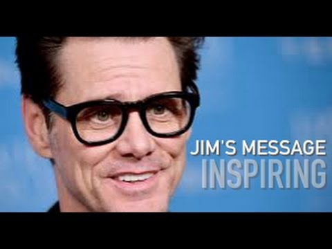 Jim Carrey's Secret of Life – Inspiring Message