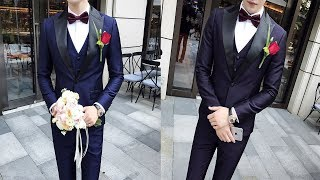 Top 3 Suits Men Wedding  Latest Collection 2019