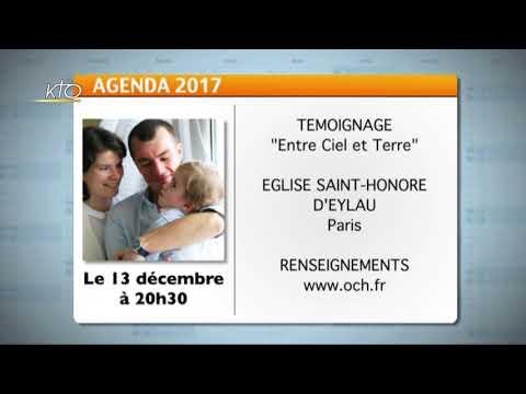 Agenda du 4 décembre 2017