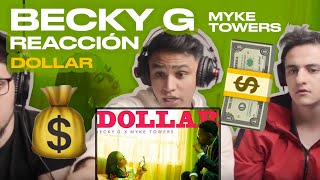 [Reacción] Becky G, Myke Towers - DOLLAR (Audio) - ANYMAL LIVE 🔴