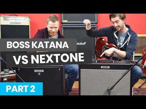 BOSS KATANA VS NEXTONE PART 2 - HOW TO DIAL IN AMP TONE