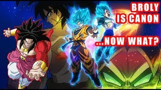 Broly Is Officially CANON! So... What's Next? (New Dragon Ball Super Movie + Toriyama