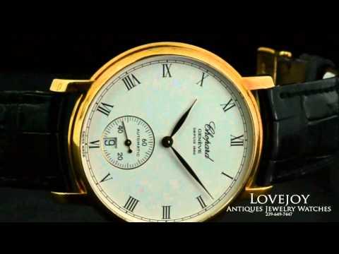 Chopard Les Classique L.U.C. Homme 18k Yellow Gold 16/1223  Mens Watch Auto