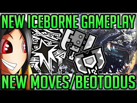 Iceborne | Beotodus Armor - Charge Blade + Switch Axe New Gameplay - Monster Hunter World Iceborne!