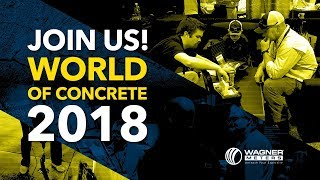 JOIN US! World of Concrete 2018