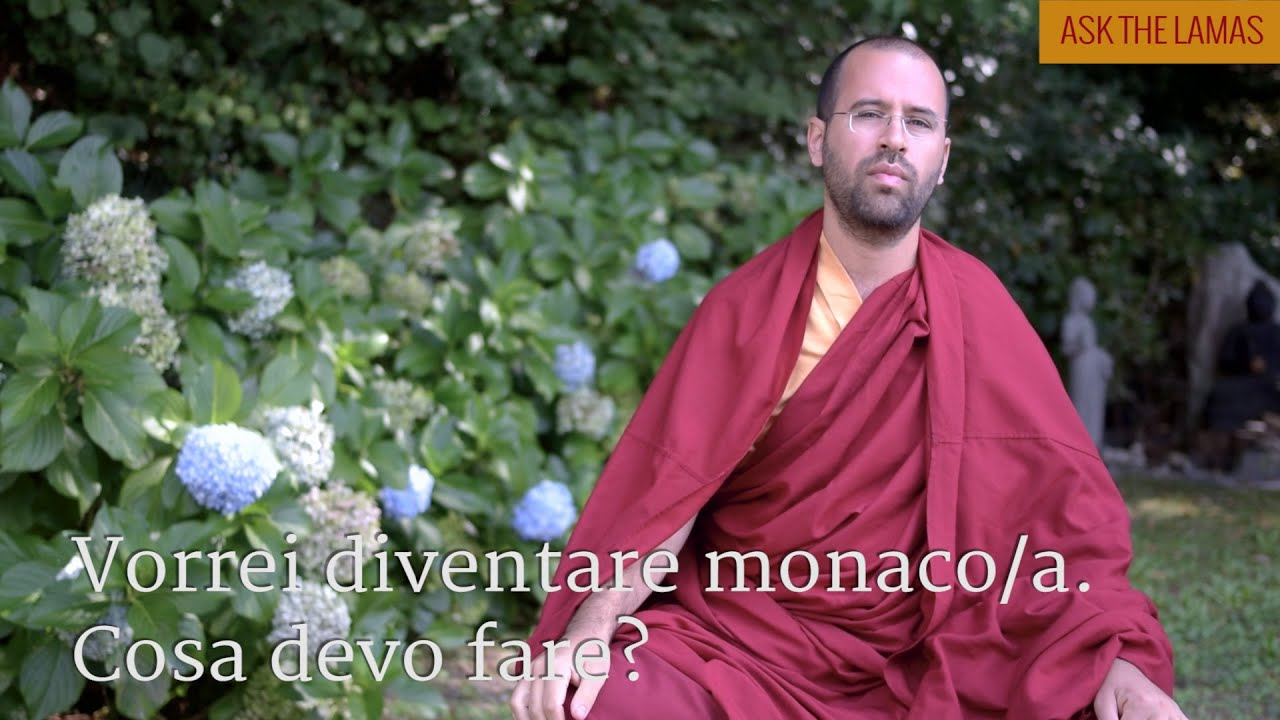 I would like to become a monk/nun. What do I need to do? (Subtitles: IT-EN-PT-ES-NL)