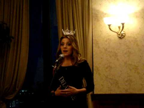 """Morgan Burris, Miss Delaware's Outstanding Teen 2012, """"Get It Right"""", Miss Capital Pageant"""