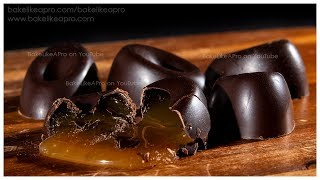 Easy Caramel Filled Chocolates Recipe Tutorial