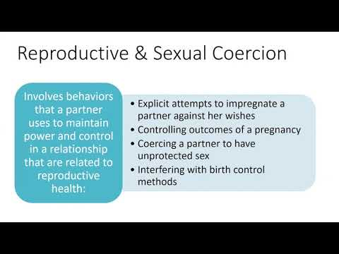 Washington State Coalition: How Reproductive Justice Impacts Survivors of Domestic Violence