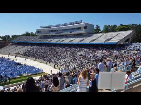 2017 UNC Chapel Hill Graduation