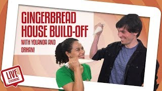 Gingerbread House Build-Off! Habitat For Humanity | How To Cake It | Yolanda Gampp
