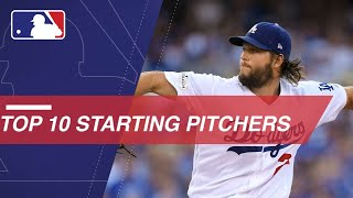 Top 10 starting pitchers in the Majors right now