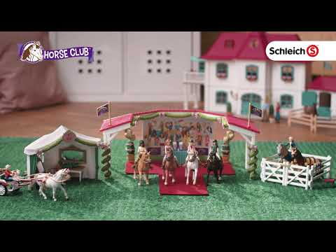 Schleich Large horse farm with residential house and stable