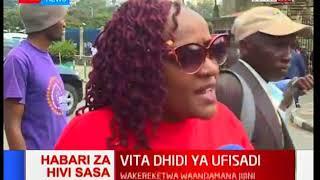 Wakenya waandamana jijini Nairobi katika vita dhidi ya ufisadi