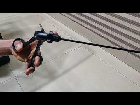 Laparoscopic Curved Scissor