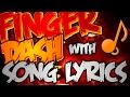 Geometry Dash FINGER DASH 100 w SONG LYRICS