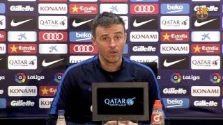 """Luis Enrique: """"We need a win at Eibar to put pressure on the teams above us"""""""