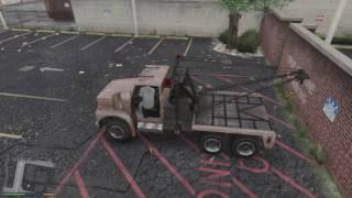 Grand Theft Auto V Tonya Tow Truck