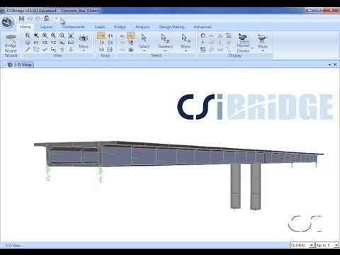Design of Prestressed Concrete Box Girders