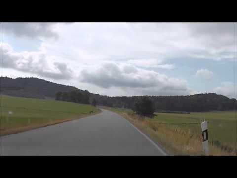Autofahrt von Grafenau nach Ringelai