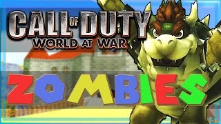 Call Of Duty: WaW Custom Zombies Super Mario Edition! - BROWSER, Thundergun, And More!