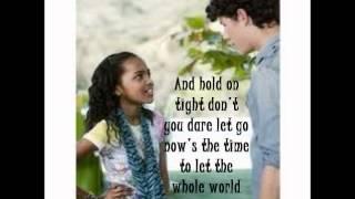 Keep It Real- China Anne McClain Lyrics!! Jonas L.A. :)