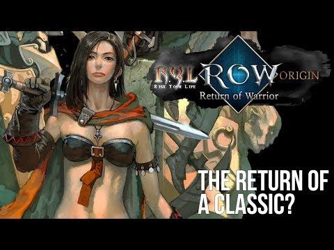 Return of Warrior: The Return of a Classic MMORPG