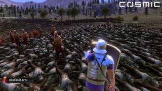 20,000 Romans VS. 20,000 Zombies - Ultimate Epic Battle Simulator