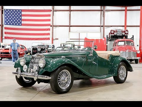 Video of Classic 1954 MG TF located in Kentwood Michigan - QF7L