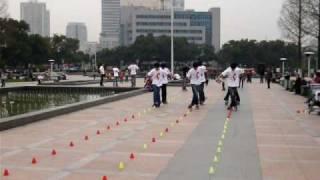 Video : China : Roller-blading in NingBo - video