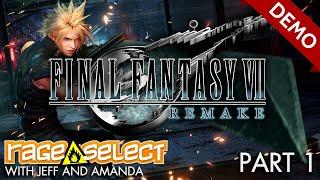 Final Fantasy VII Remake (Demo) - The Dojo (Let's Play) - Part 1