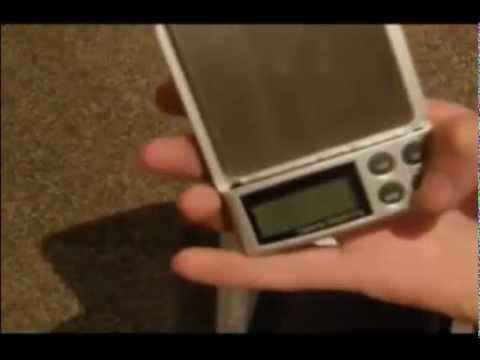 1000g x 0 1g Digital Gem Gram Diamond Pocket Lab Scale videos - videos