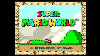 슈퍼마리오 월드 타이틀(Super Mario World) - Title Screen