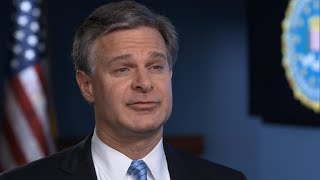 Norah O'Donnell sits down with FBI Director Christopher Wray: Extended interview - Video Youtube