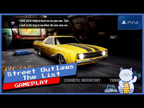 Street Outlaws The List PS4 Gameplay