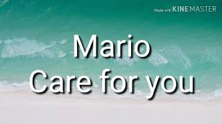 Mario Care For You Lyrics