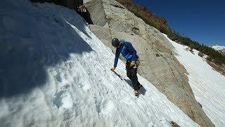 Alpine & Mountaineering: 3. Kicking Steps - Duck Foot, Flat Foot & Front Pointing | ClimbingTechTips