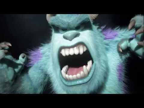 Monsters university final biggest roar scene