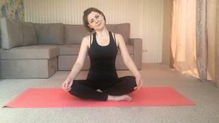 Смотреть онлайн Пилатес для шеи, как правильно делать гимнастику