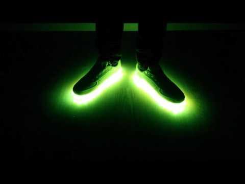 LED Schuhe | alle Farben und Funktionen