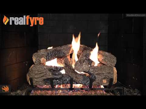 Real Fyre Charred Northern ANSI Vented Gas Log Set