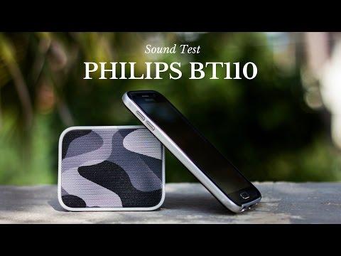 Philips BT110 Bluetooth Speaker - Sound Test